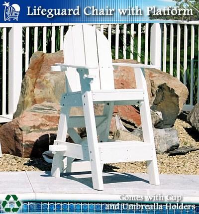 LG505 Lifeguard Chair